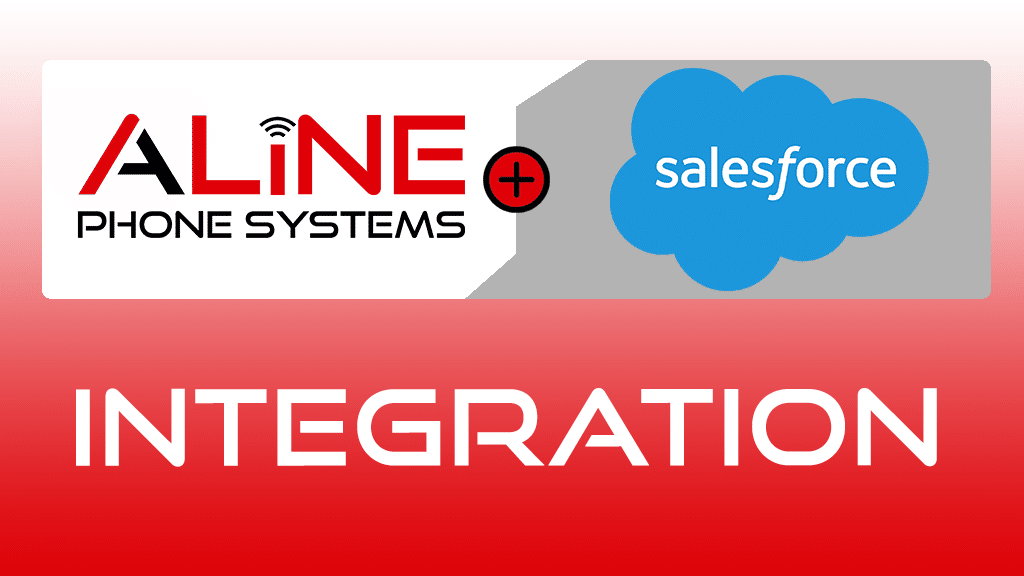 Aline phone system has integration with Salesforce
