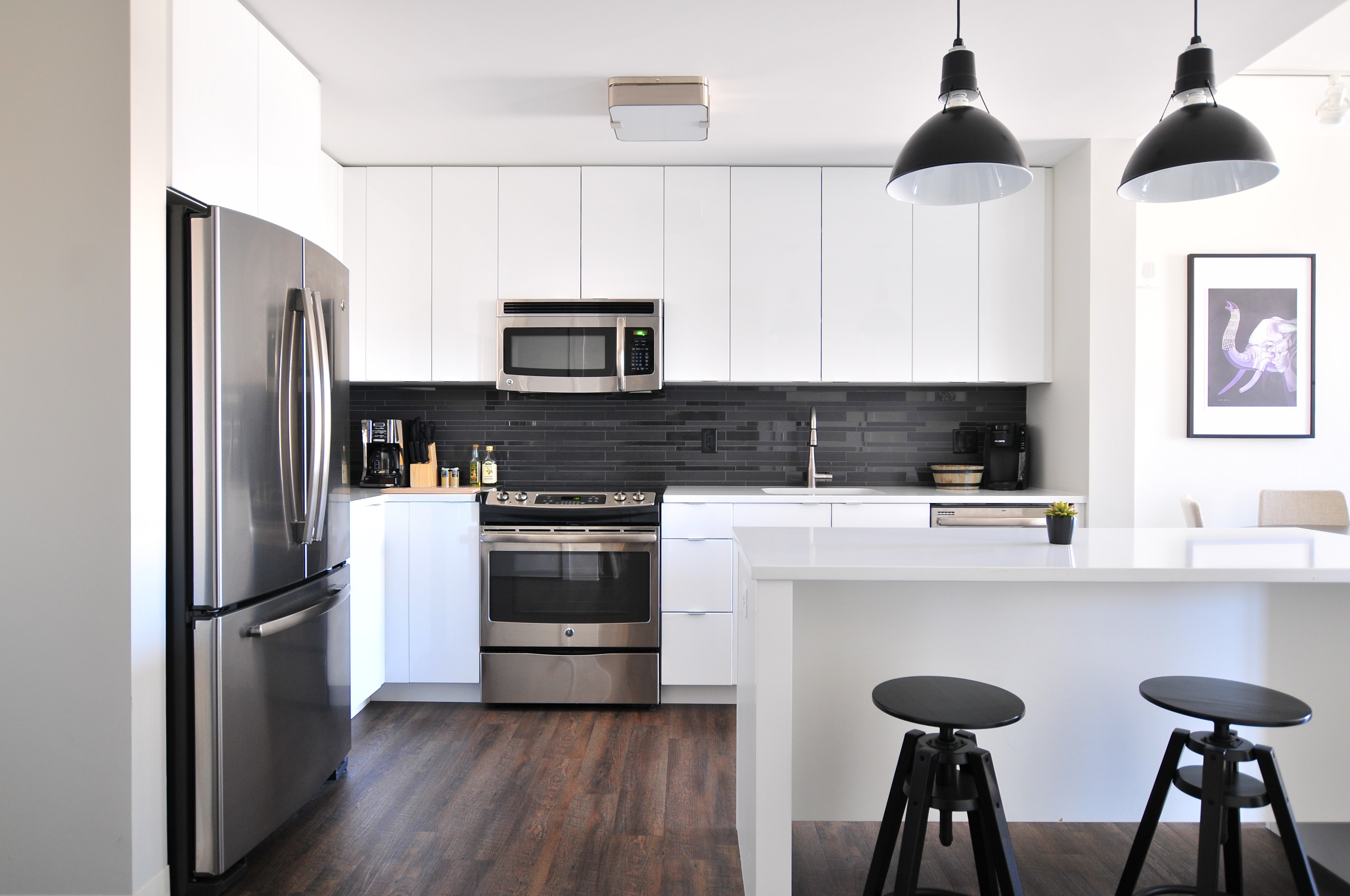 Better habits like having an organized home