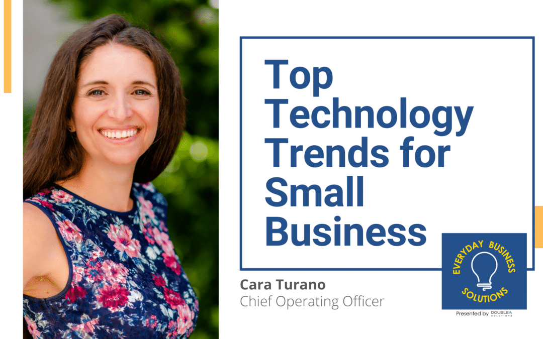 Top Technology Trends for Small Business with Cara Turano